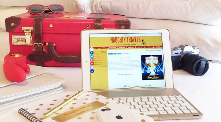 My Naughty Nomad Office | Naughty Travels